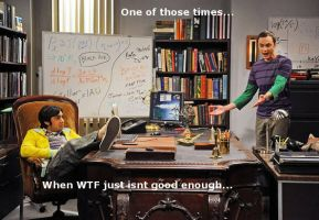 Sheldon's WTF Moment by DrSheldonCooperPhD
