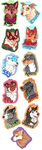 MFF Badges by whitepup