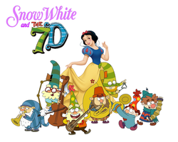 Snow White and The 7D by rabbidlover01