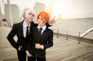 Byakuran and Shouichi from Katekyo Hitman Reborn by Zakane
