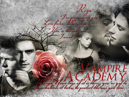 Vampire Academy Wallpaper by lovewillbiteyou
