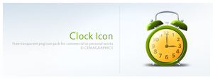 Clock Icon by cemagraphics