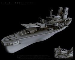 USS Tombstone by wolv