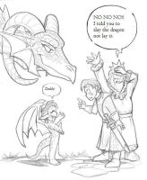 I-told-you-to-slay-the-dragon-not-lay-it by gamegm