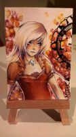 ACEO Trade by MizuCat