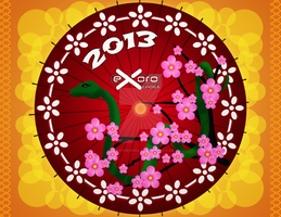 Exoro Choice's 2013 Chinese New Year Cards 21 by ExoroDesigns
