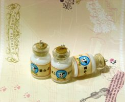 Lon lon milk bottles by OnegaiSweet