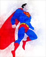 Superman Grunge by Laffyette