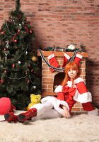 Asuka Langley Merry Christmas by Re-Aska