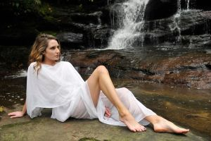 Zoe - white grecian dress 1 by wildplaces