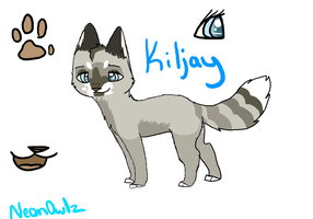 New Kiljay Ref Sheet by NeonOwlz