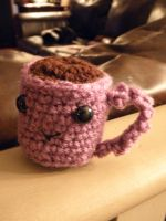 Coffee Cup - Purple by MathCrazy
