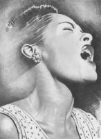 Billie Holiday by BrownRecluse805