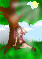 Under The Tree by isanctz