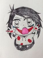 [Chibi] Jeff the Killer by Black-Scythia
