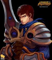 League of Fighters - Garen by 2gold