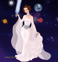 Princess Leia Organa GM by LadyIlona1984