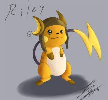 Riley, The Raichu by Trozte