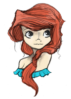 Ariel--Colored by Laural0u