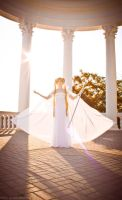 Sunshine in her hands by LoveSenshi