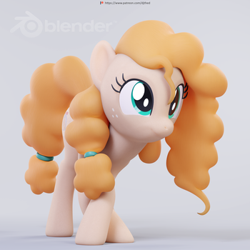Pear Butter Test Pose 2 by TheRealDJTHED