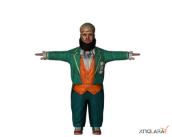 Hornswoggle for XNALara by deexie