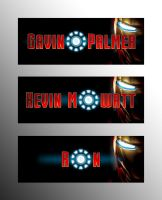 Iron Man Typography by rawcre8tive