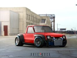 Renault 5 Nod Designs by naifodeh
