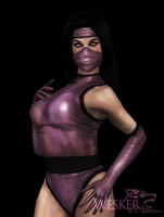 Alone classic Mileena by Weskervit789