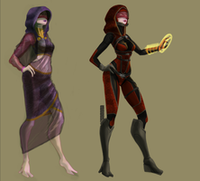 Tali Zora Vas Raven (After Effect: the exiles) by Blackjack-Davie