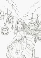 Valley of hours (Sketch) by Phoenix-zhuzh