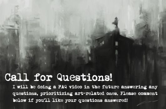 Call for Questions - FAQ Video! by Alex-Chow