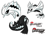 Pokemon Black and White by Bluwiikoon
