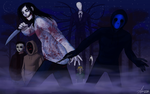 Creepypasta Wallpaper 2 by SUCHanARTIST13