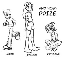 and how prize characters by piig