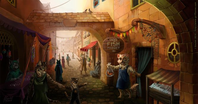 Cat Street by joanniegoulet