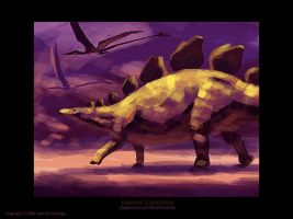 Jurassic Creatures by Red-Dilopho