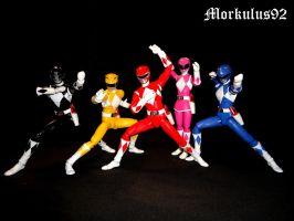 Mighty Morphin Power Rangers by Morkulus92