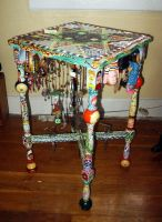 Folk Table by aldosart