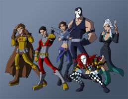 Commission - Secret Six by KrisSmithDW