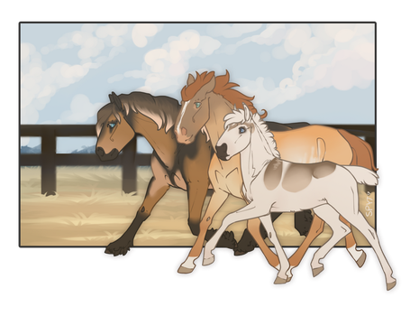 The Family that Hunts Together by SpytFyre-Ranch