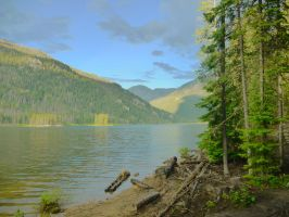 Monarch Lake II, Colorado by PamplemousseCeil
