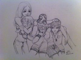 Big Sis Liz and Her Little Sibs by ManiacTenshi