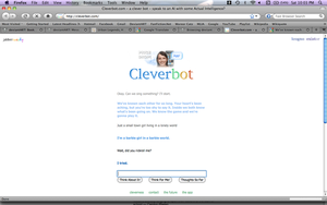 Cleverbot Rickrolled Me. by BookWurm15