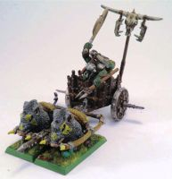 Orc Boar Chariot by Elmo9141
