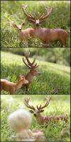 Naked in Nature 4 of 8 by MySweetQueen-Dolls