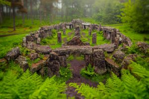Druids Temple by newcastlemale