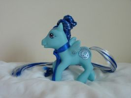 custom my little pony celtic blue 4 by thebluemaiden