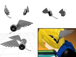 MMD Headphones by LazzXion-Keyblade