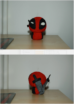 Deadpool Crocheted by wimpcheese